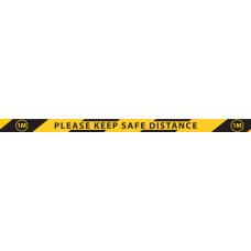 1M Safety Distance Tape
