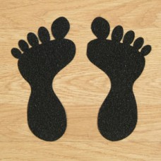 Anti-Slip Foot Symbols - Black