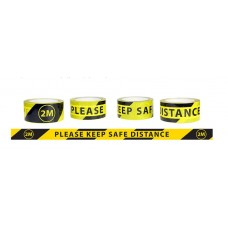 2M Safety Distance Tape