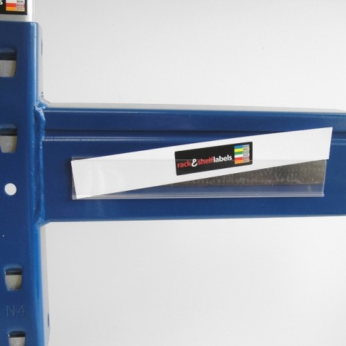 Plastic Magnetic Label Holders 26mm X 200mm Rack Amp Shelf