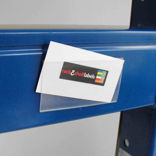 Plastic Magnetic Label Holders 52mm X 100mm Rack Amp Shelf