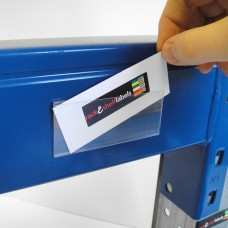 Plastic Magnetic Label Holders 39mm x 100mm