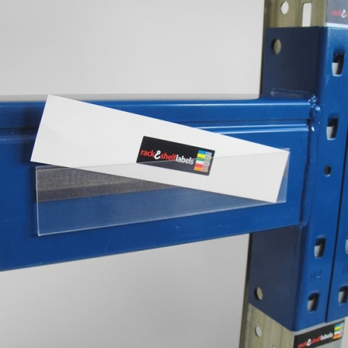 Plastic Magnetic Label Holders 39mm X 200mm Rack Amp Shelf