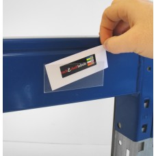 Self-Adhesive Label Holders 39mm x 100mm