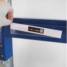 Self-Adhesive Label Holders 17mm x 200mm