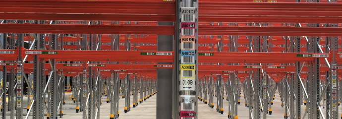 Upright labels and single location labels