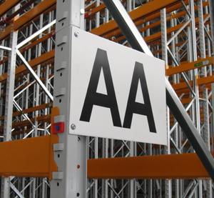 Warehouse Signs   Rack & Shelf Labels